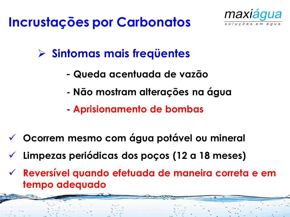 Incrustações por Carbonatos