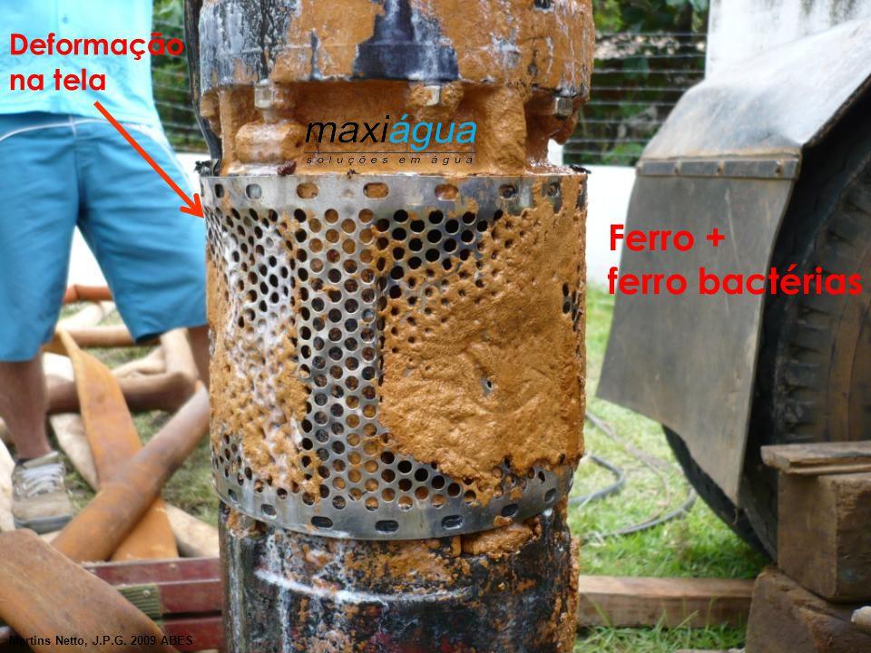 Ferro + ferro bactérias