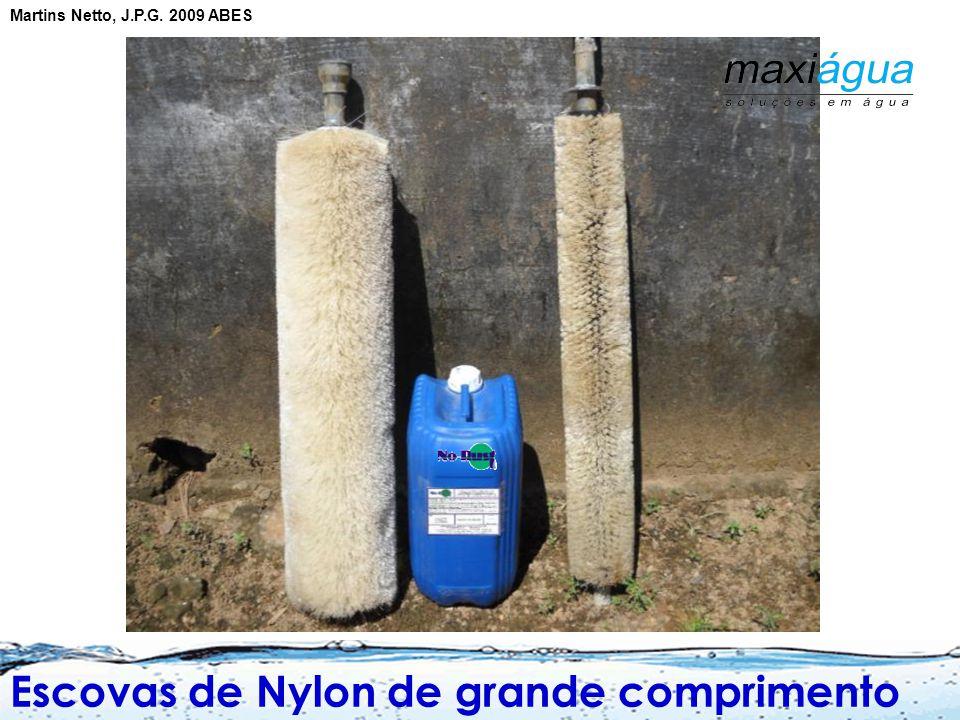 Escovas de Nylon de grande comprimento