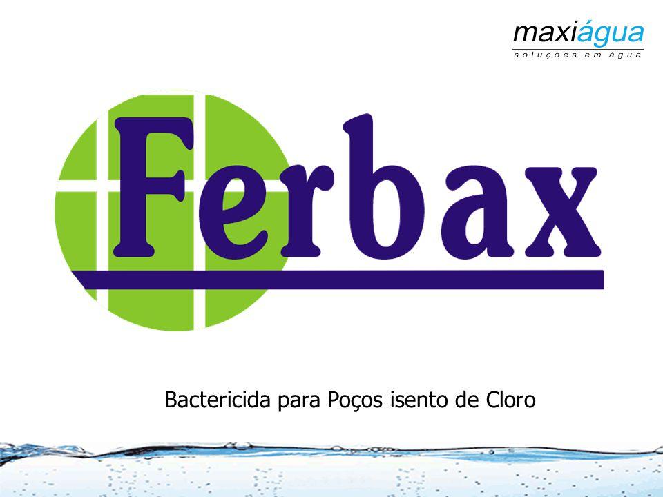 Bactericida para Poços isento de Cloro