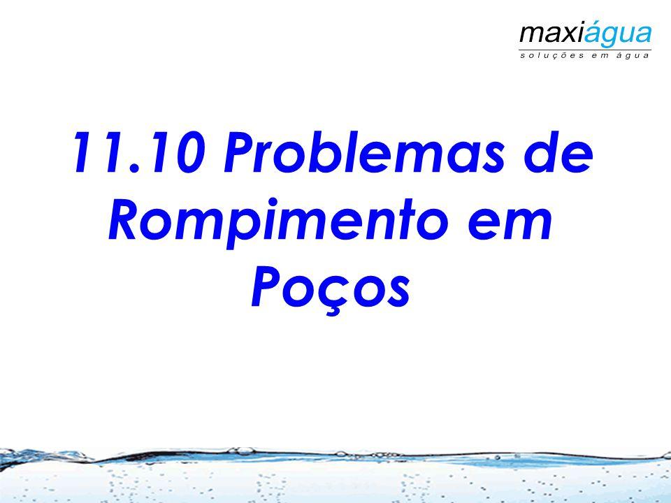 11.10 Problemas de Rompimento em Poços