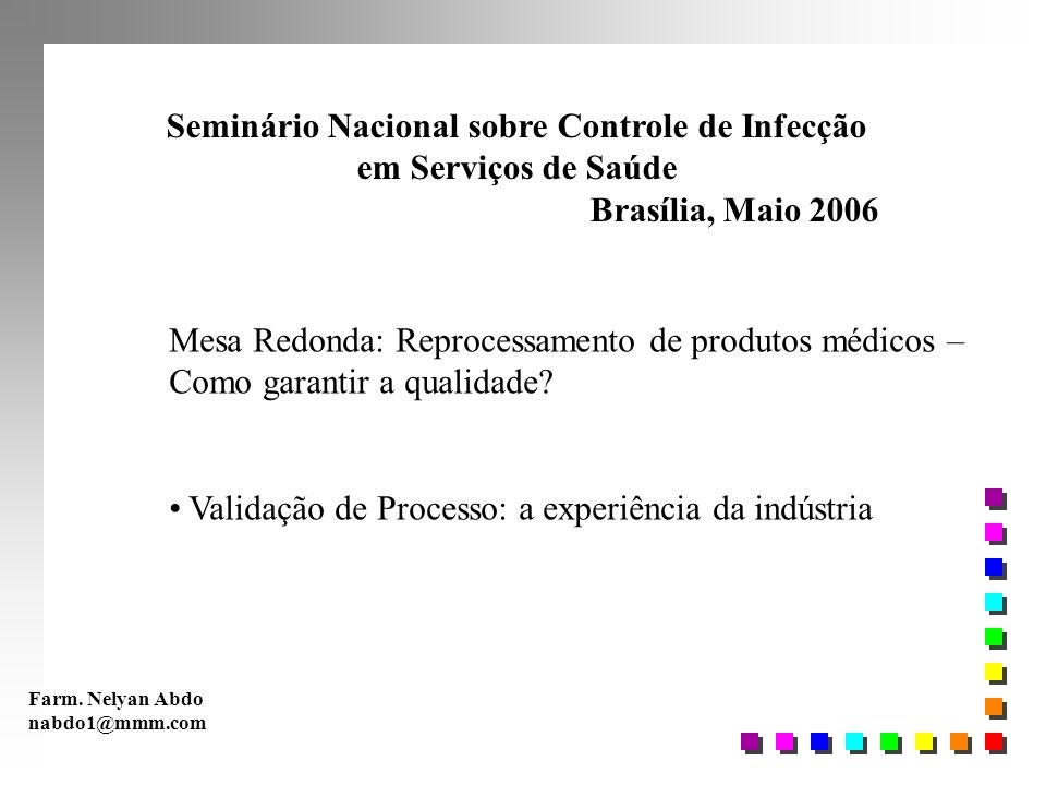 Seminário Nacional sobre Controle de Infecção
