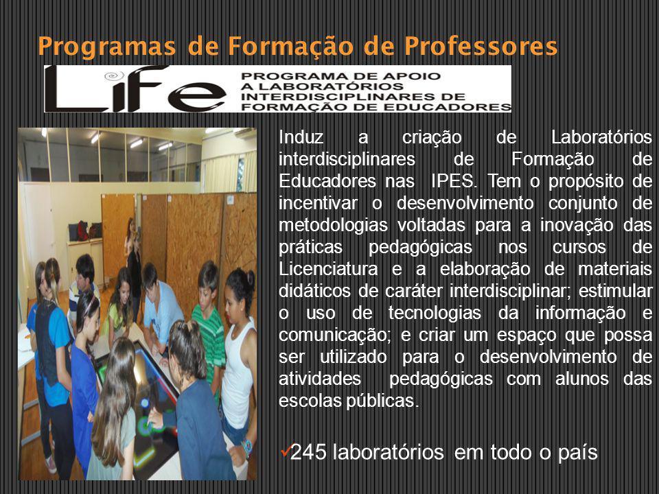 Programas de Formação de Professores