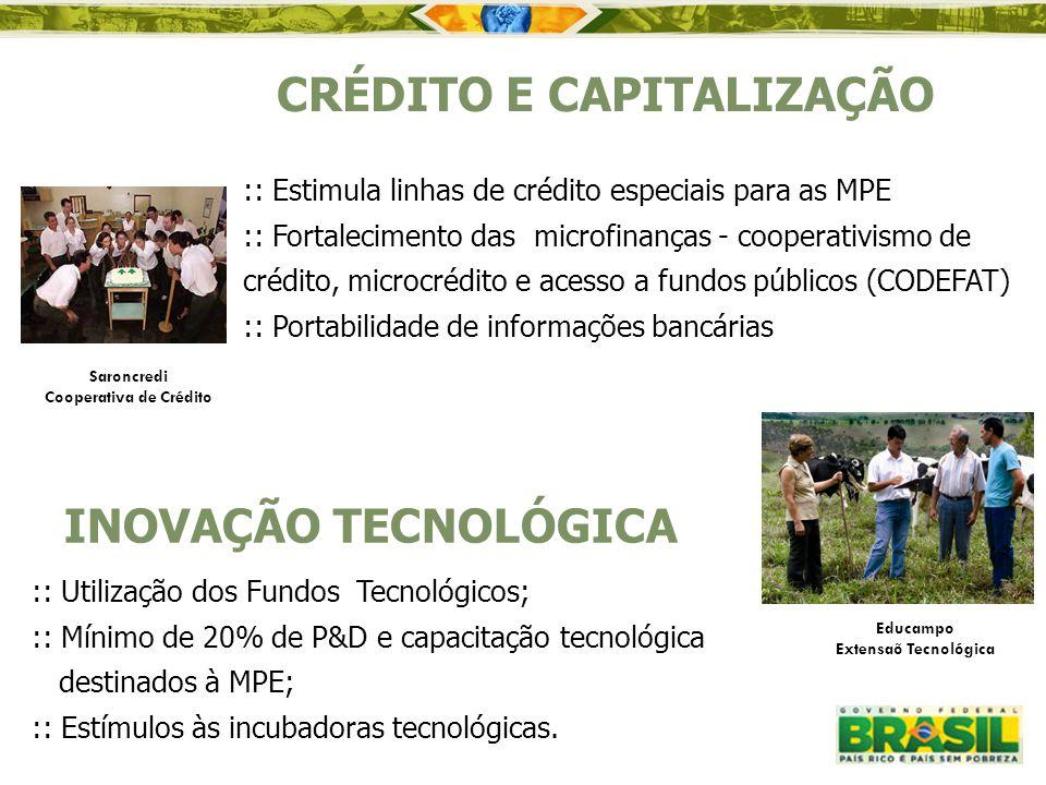 CRÉDITO E CAPITALIZAÇÃO Cooperativa de Crédito