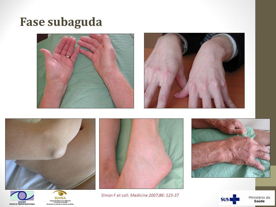 Fase subaguda Simon F et coll. Medicine 2007;86: 123-37