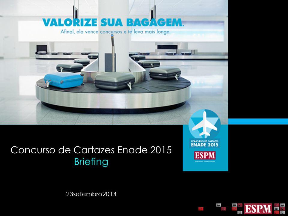 Concurso de Cartazes Enade 2015