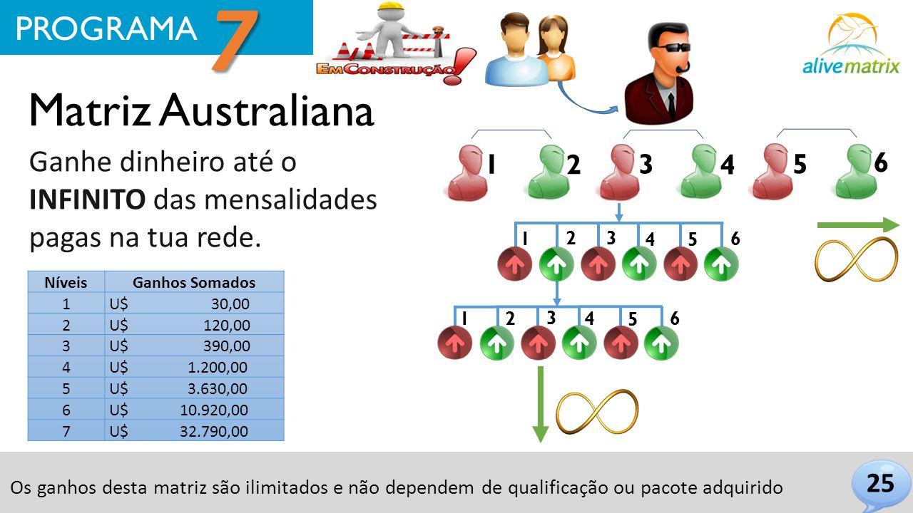 7 Matriz Australiana PROGRAMA