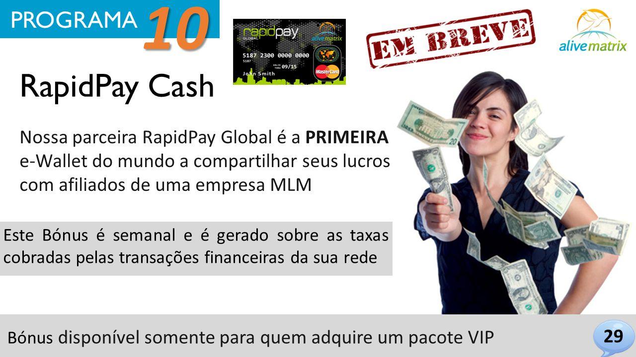 10 RapidPay Cash PROGRAMA