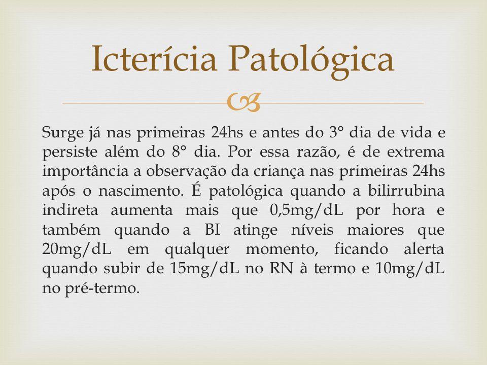 Icterícia Patológica