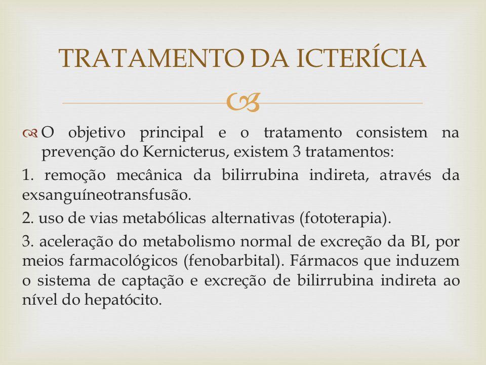 TRATAMENTO DA ICTERÍCIA
