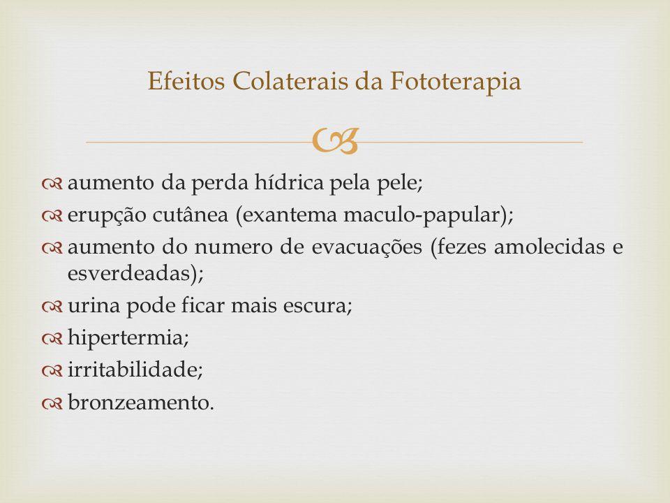 Efeitos Colaterais da Fototerapia