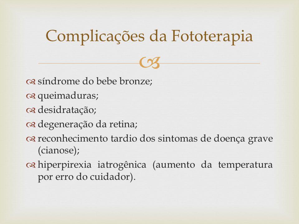 Complicações da Fototerapia
