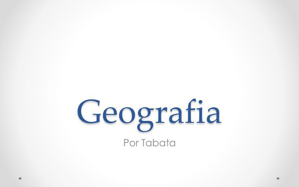 Geografia Por Tabata
