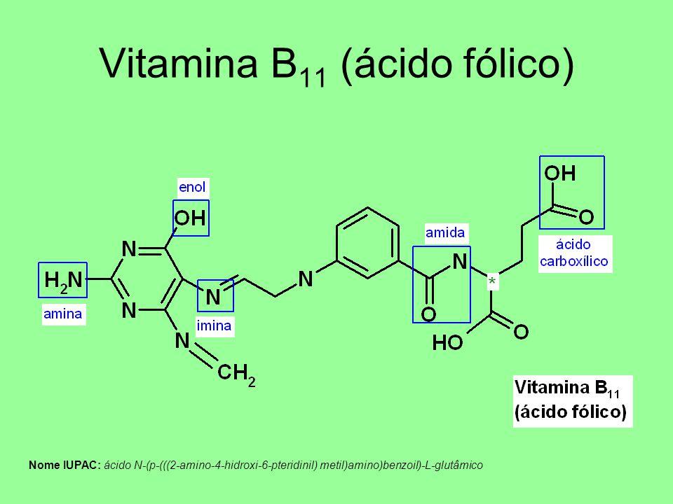 Vitamina B11 (ácido fólico)