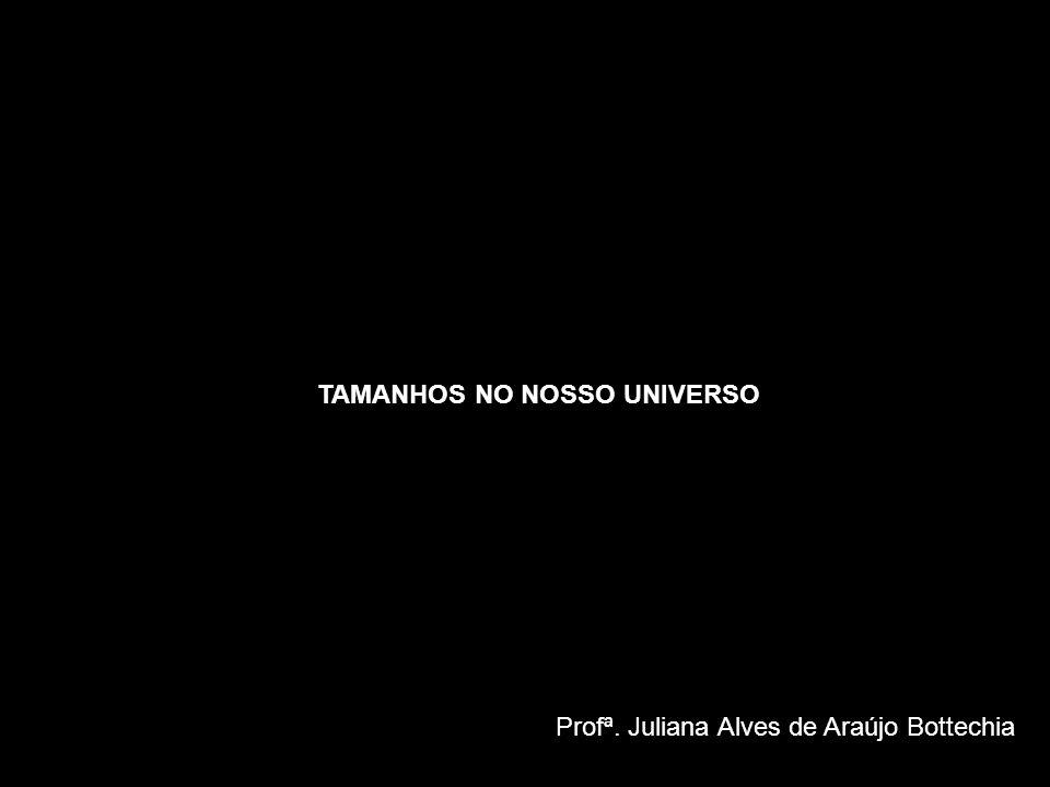 TAMANHOS NO NOSSO UNIVERSO