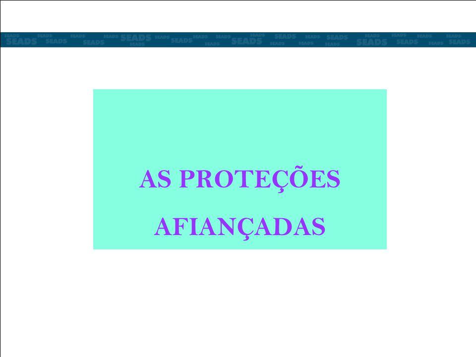 AS PROTEÇÕES AFIANÇADAS