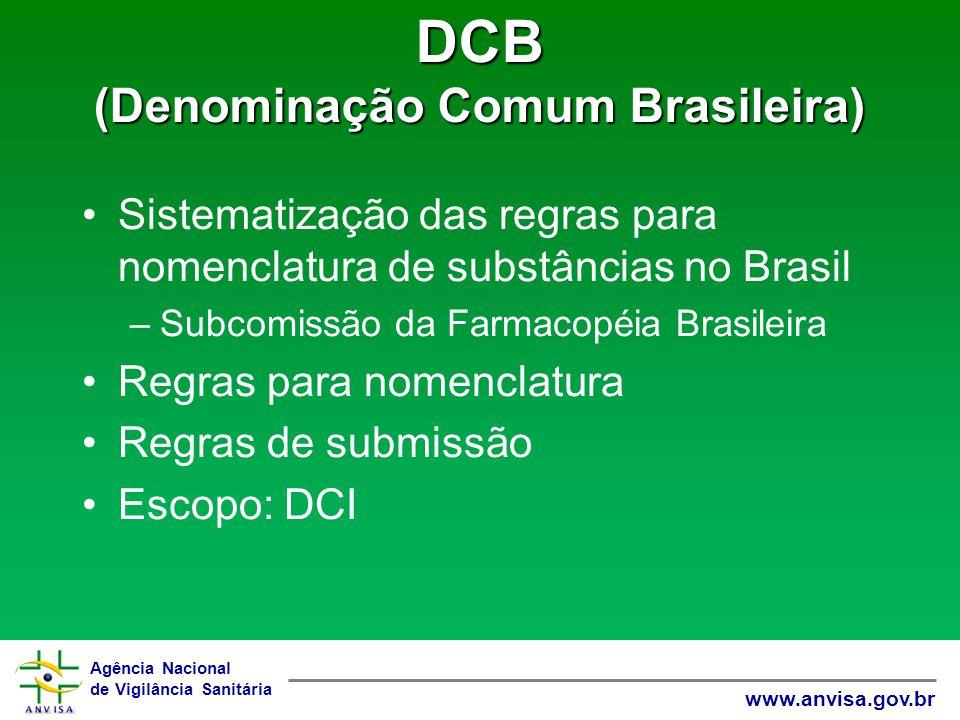 DCB (Denominação Comum Brasileira)