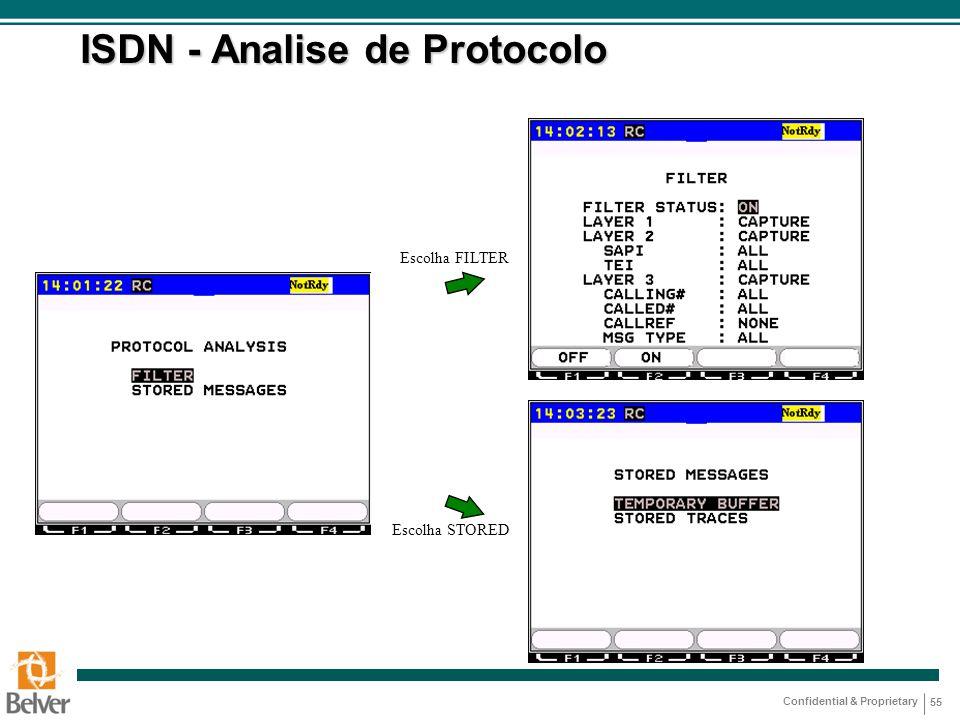 ISDN - Analise de Protocolo