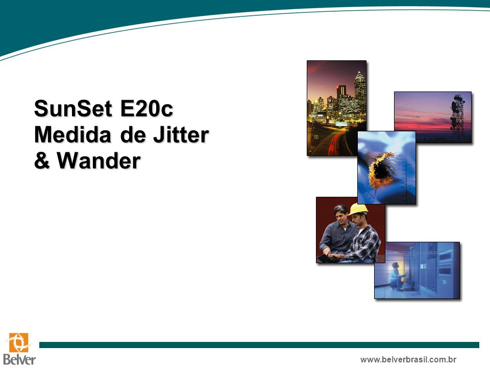 SunSet E20c Medida de Jitter & Wander