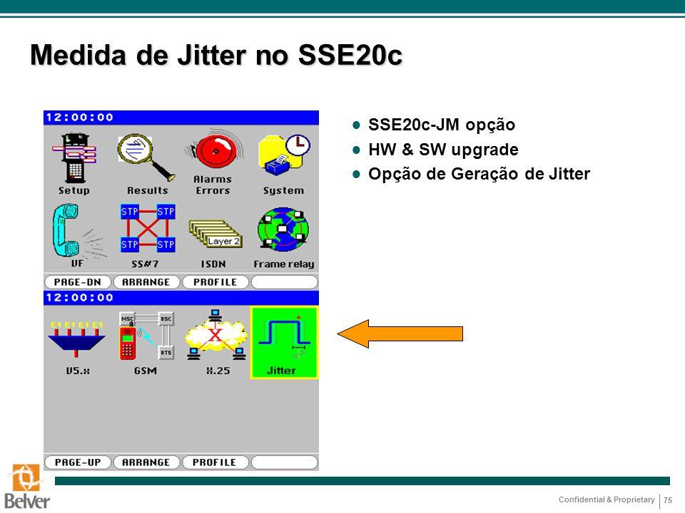 Medida de Jitter no SSE20c