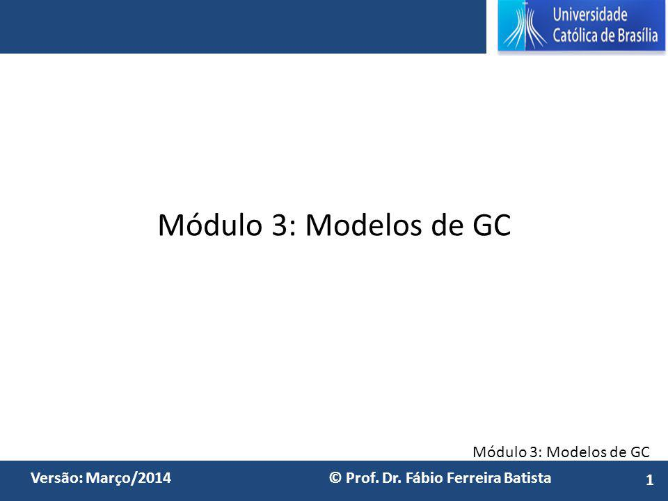 Módulo 3: Modelos de GC 1