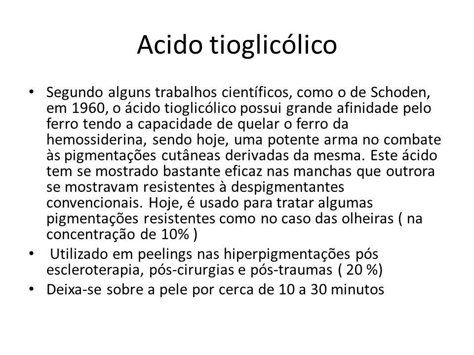 Acido tioglicólico