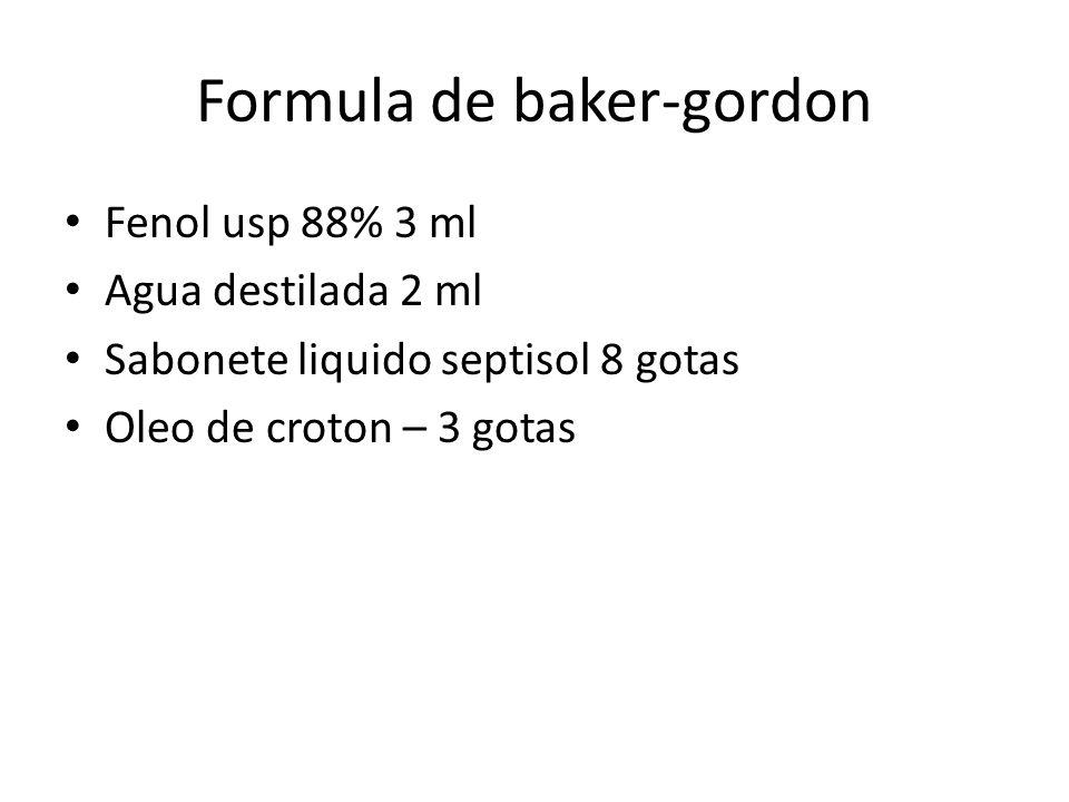 Formula de baker-gordon