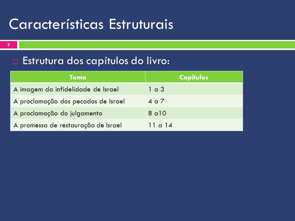 Características Estruturais