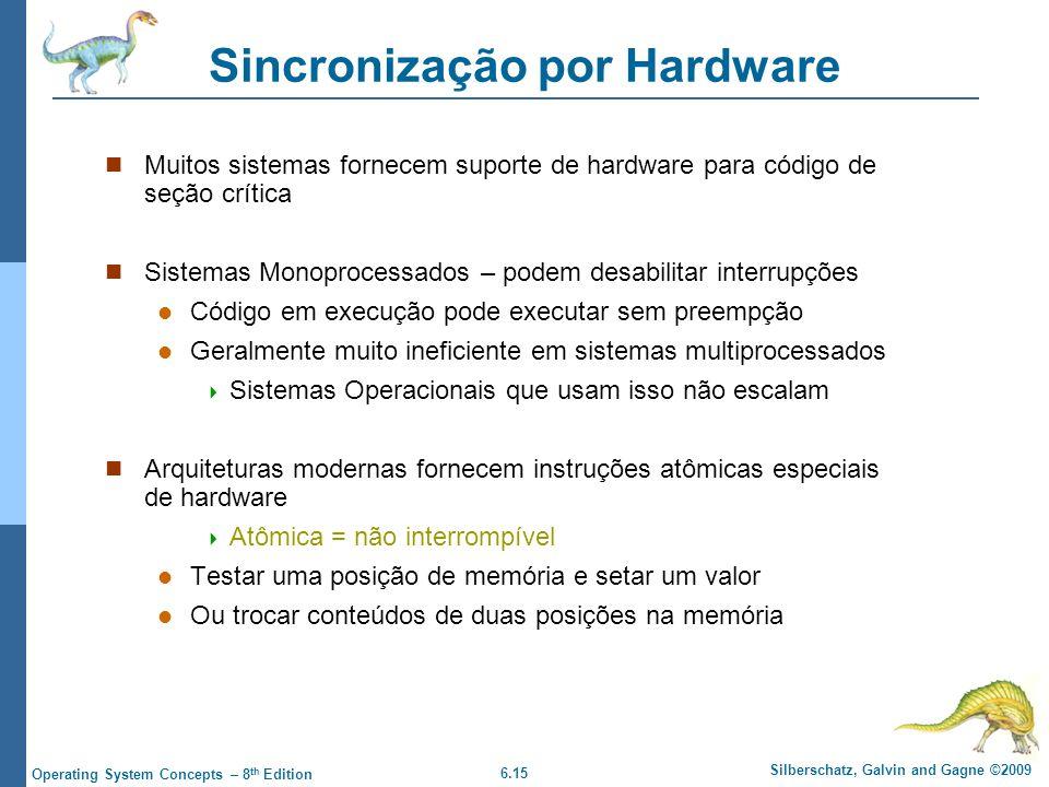 Sincronização por Hardware