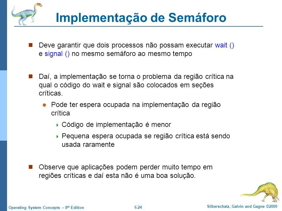 Implementação de Semáforo