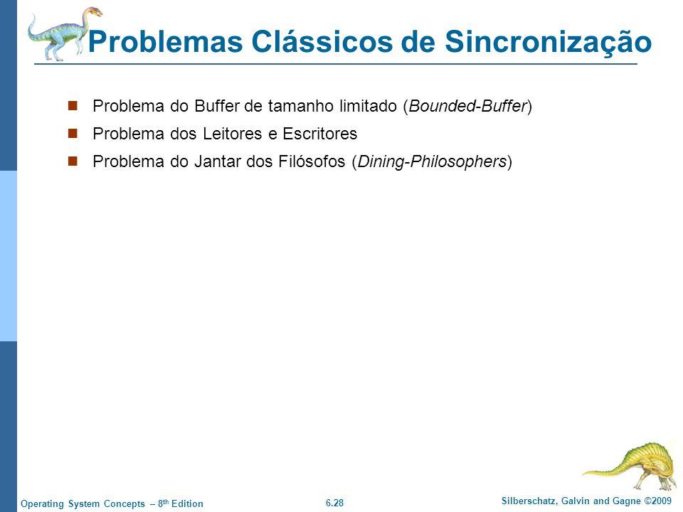 Problemas Clássicos de Sincronização