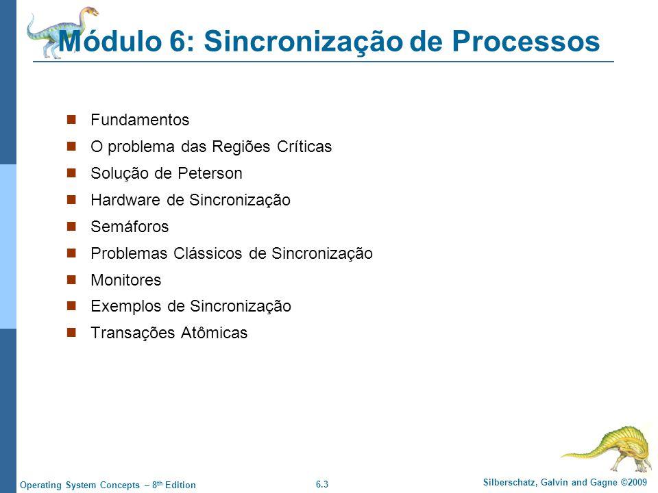 Módulo 6: Sincronização de Processos