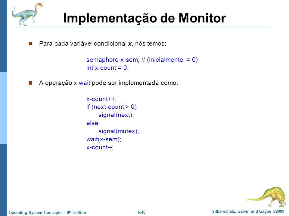 Implementação de Monitor