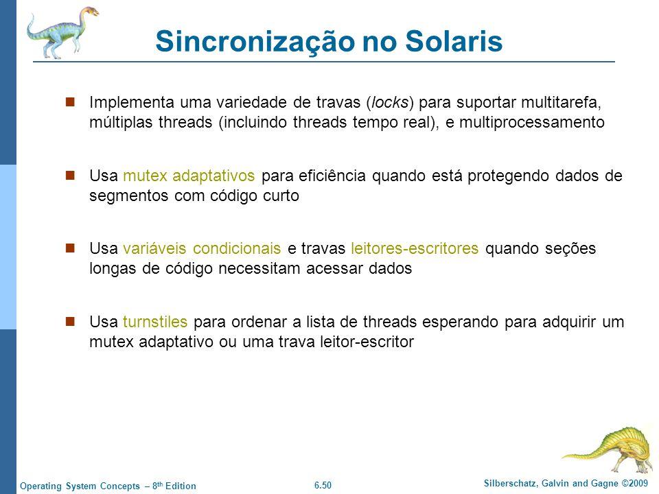 Sincronização no Solaris