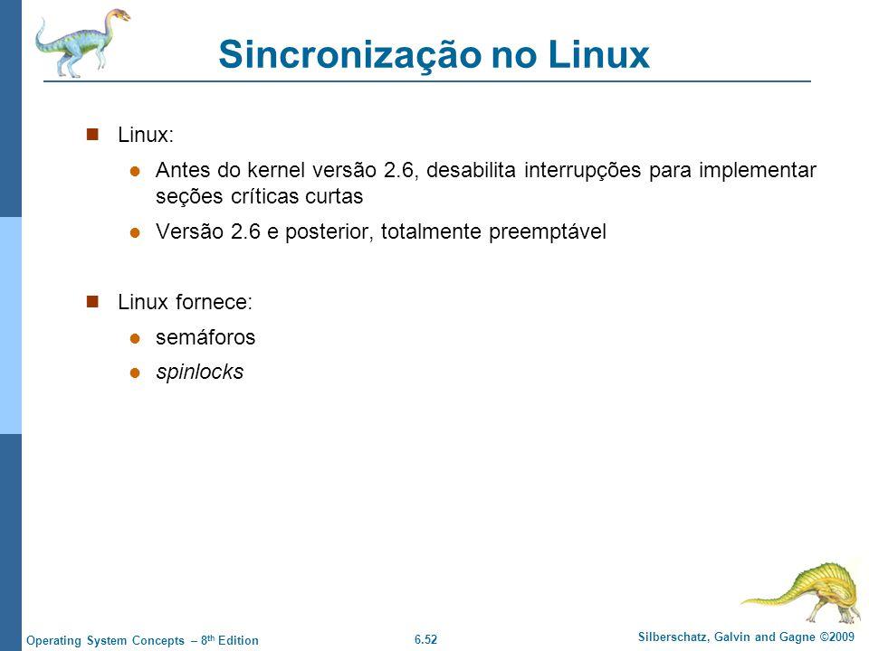 Sincronização no Linux