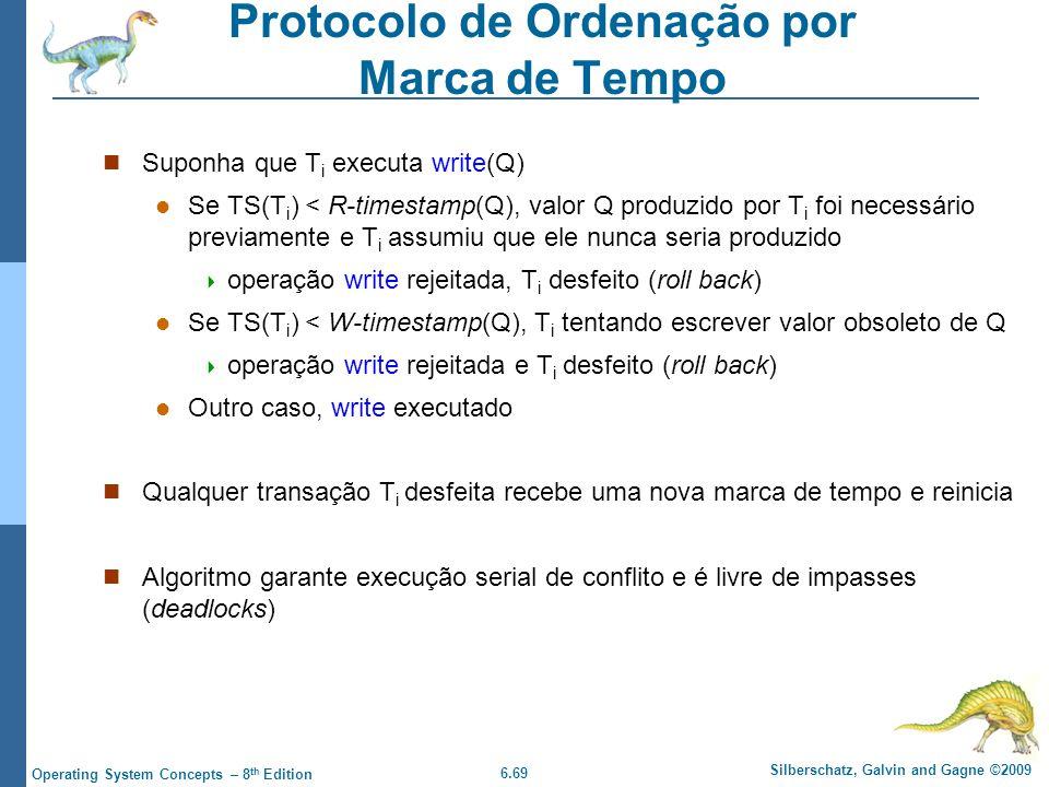 Protocolo de Ordenação por Marca de Tempo