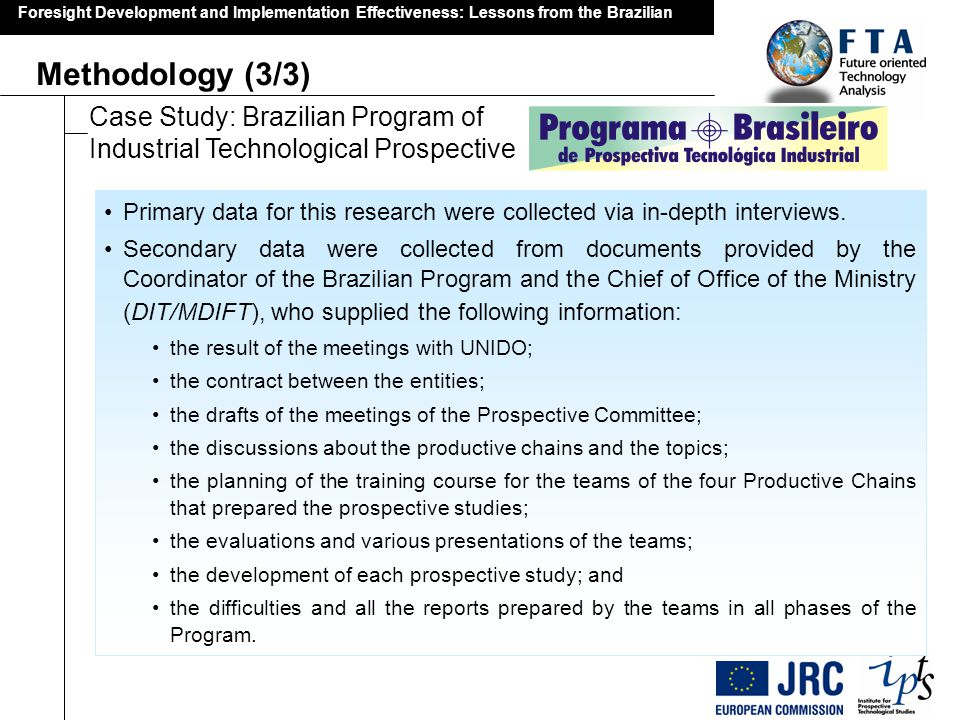 Foresight Development and Implementation Effectiveness: Lessons from the Brazilian