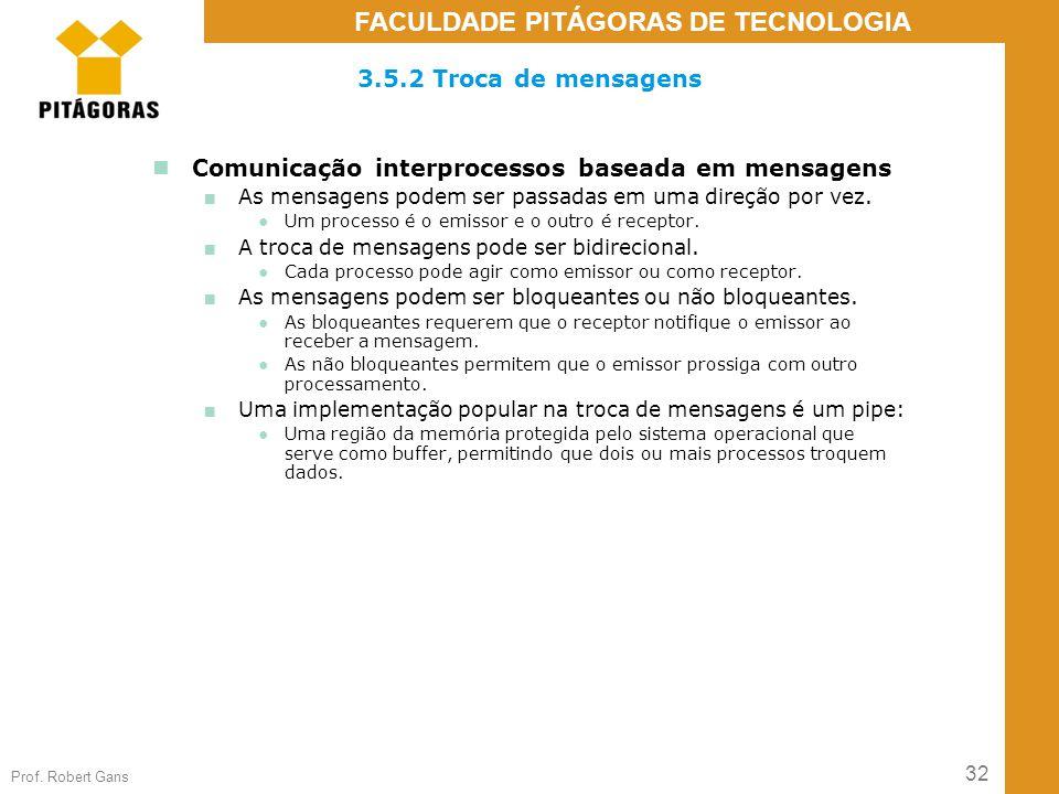 Comunicação interprocessos baseada em mensagens