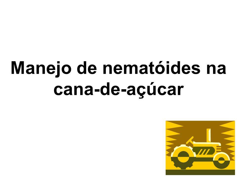 Manejo de nematóides na cana-de-açúcar