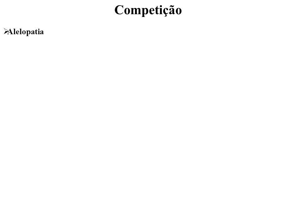 Competição Alelopatia