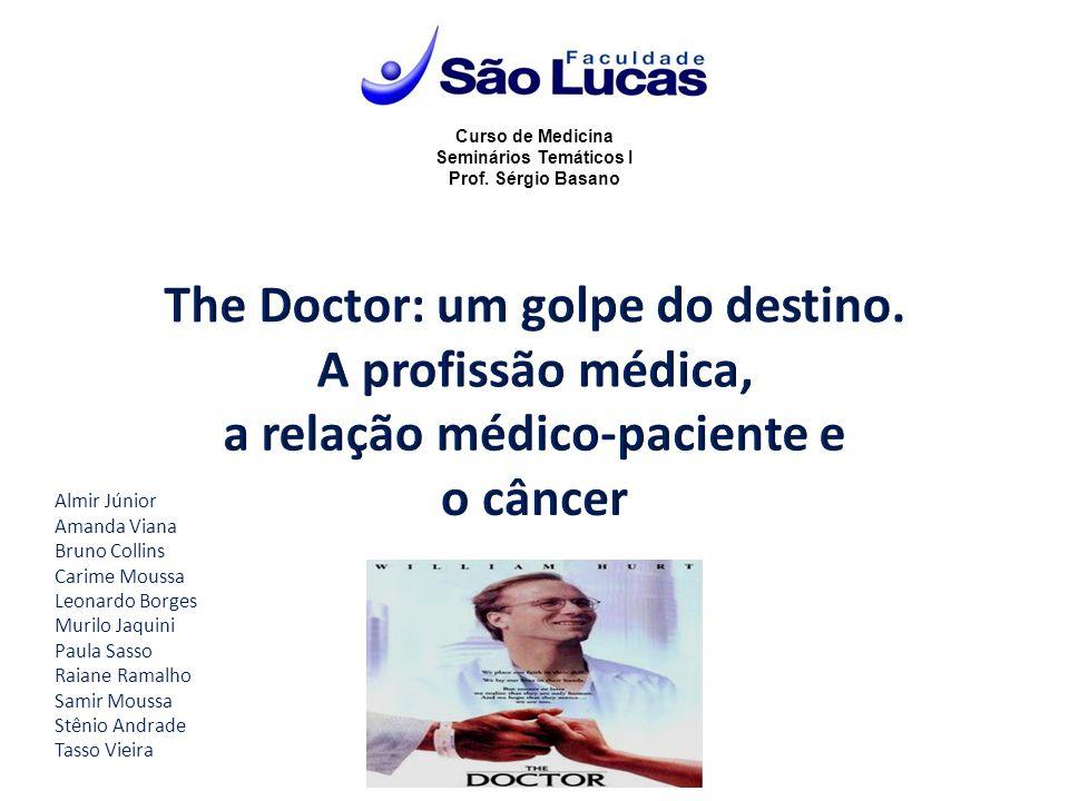 Curso de Medicina Seminários Temáticos I Prof. Sérgio Basano