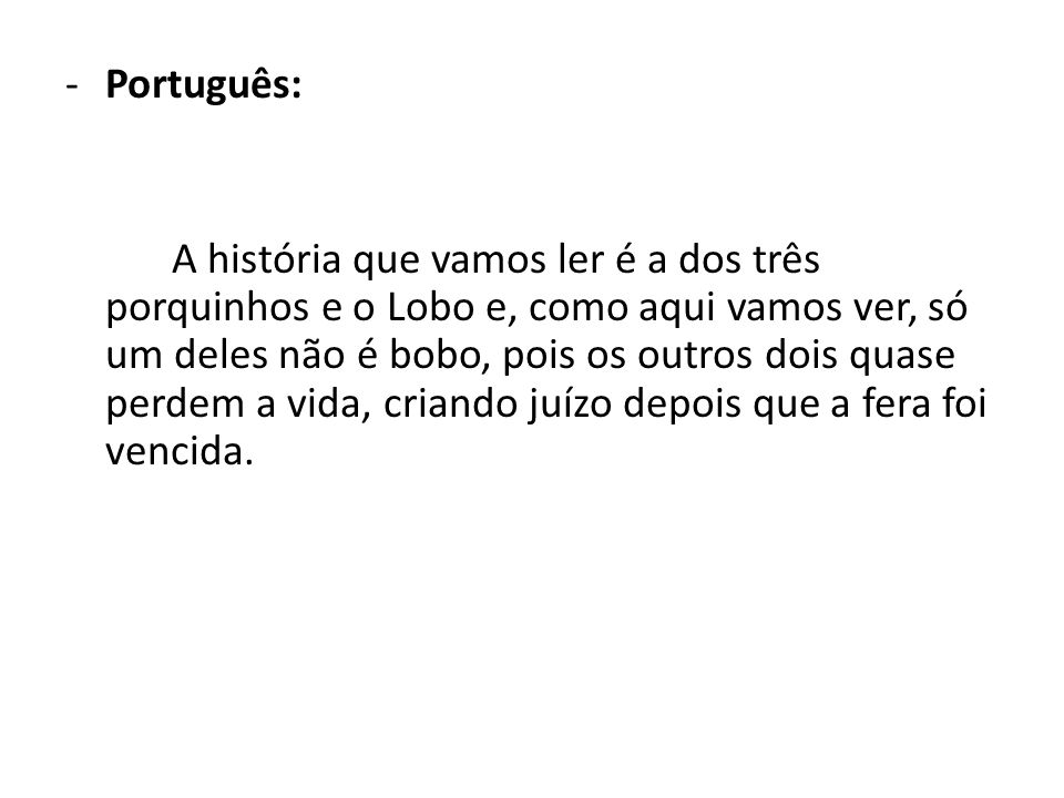 Português: