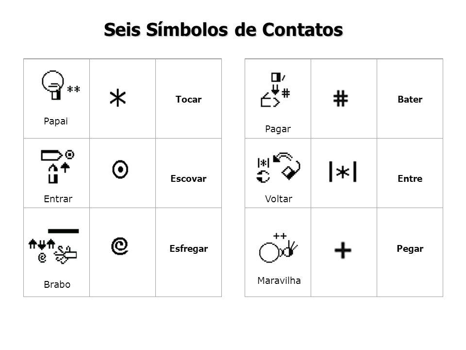 Seis Símbolos de Contatos