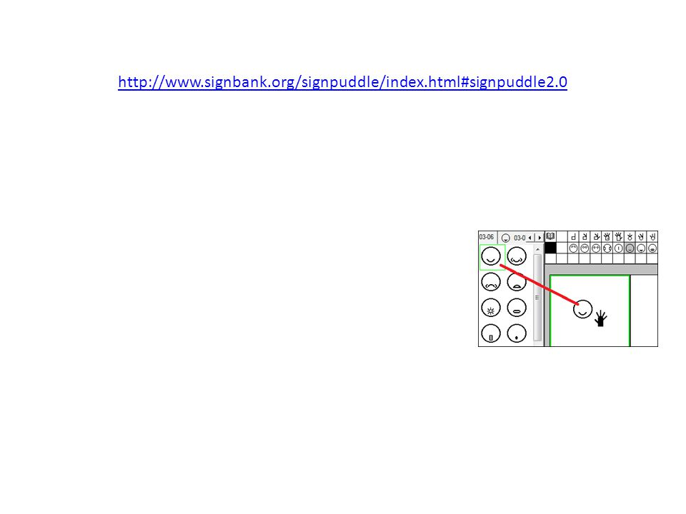 http://www.signbank.org/signpuddle/index.html#signpuddle2.0