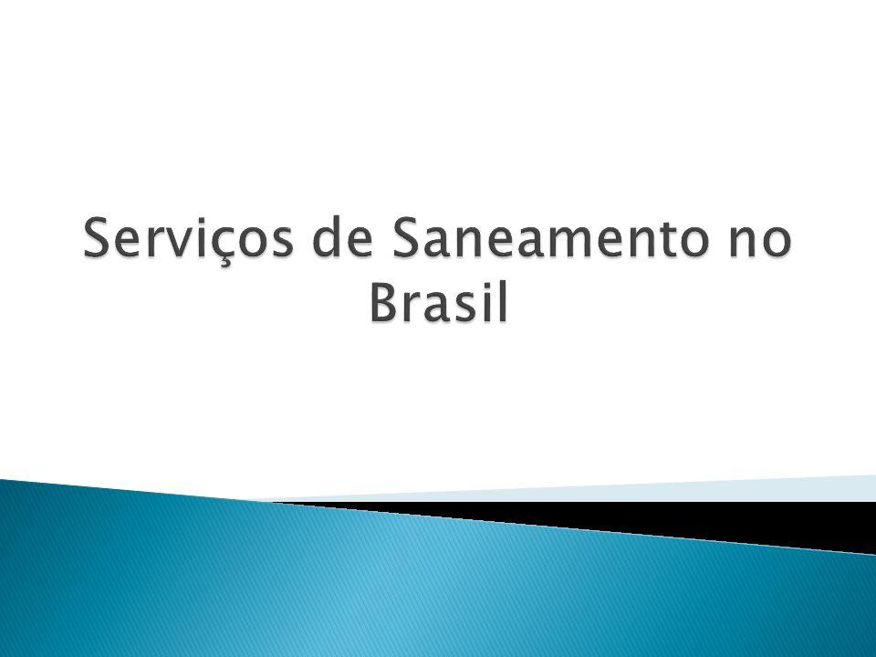 Serviços de Saneamento no Brasil