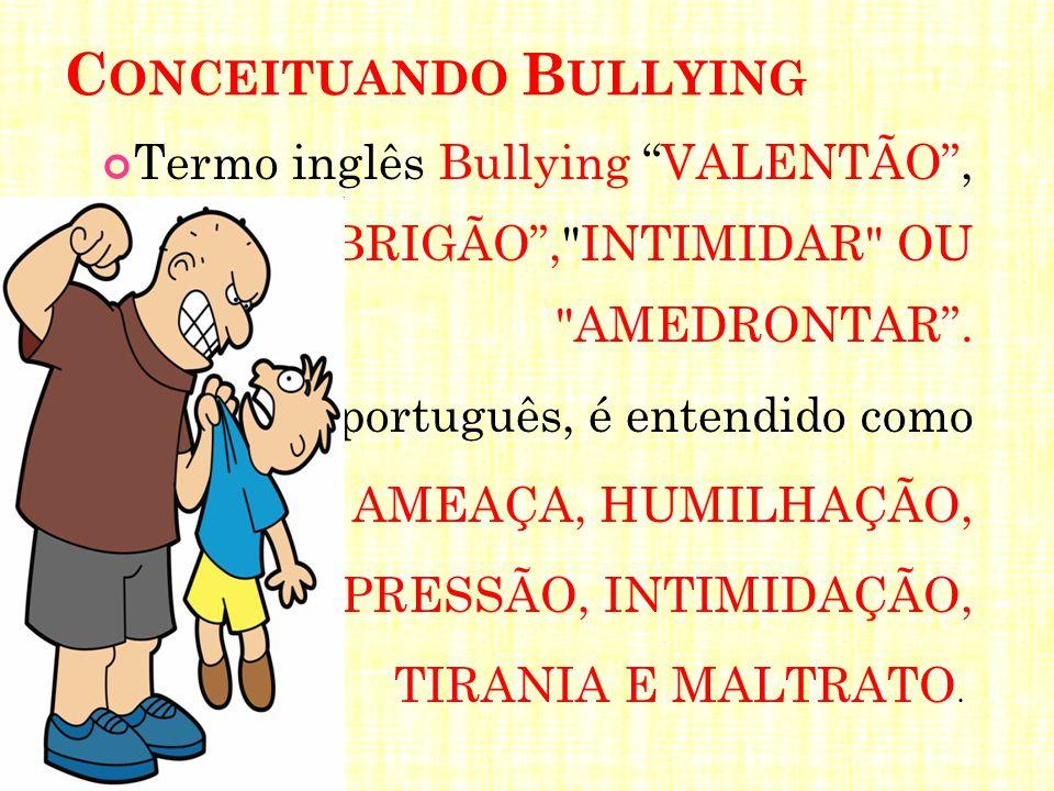 Conceituando Bullying
