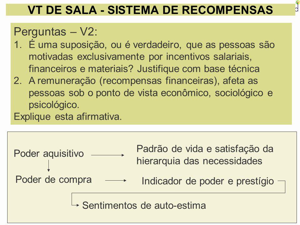 VT DE SALA - SISTEMA DE RECOMPENSAS