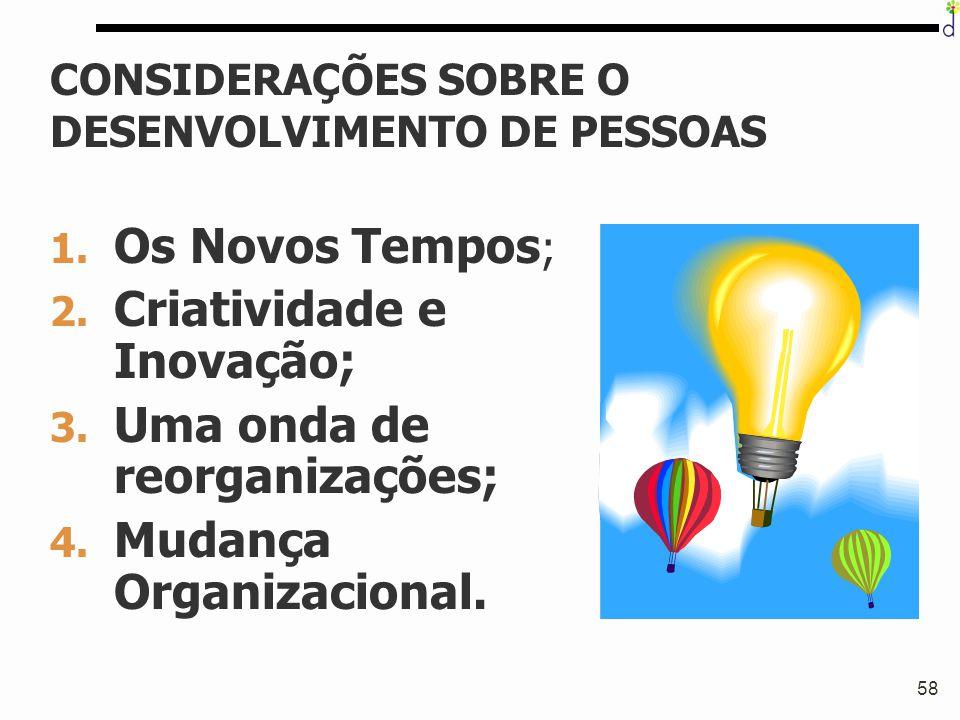 CONSIDERAÇÕES SOBRE O DESENVOLVIMENTO DE PESSOAS