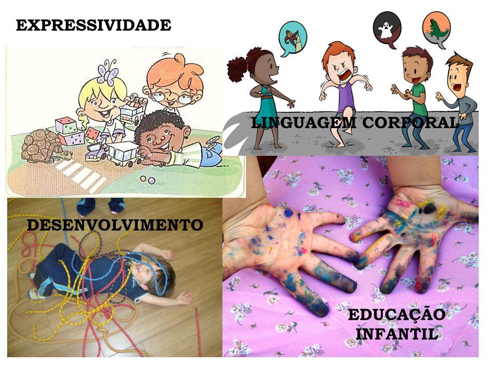 EXPRESSIVIDADE LINGUAGEM CORPORAL DESENVOLVIMENTO EDUCAÇÃO INFANTIL