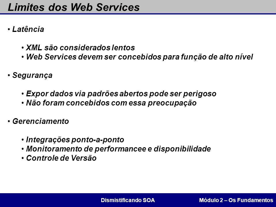Limites dos Web Services